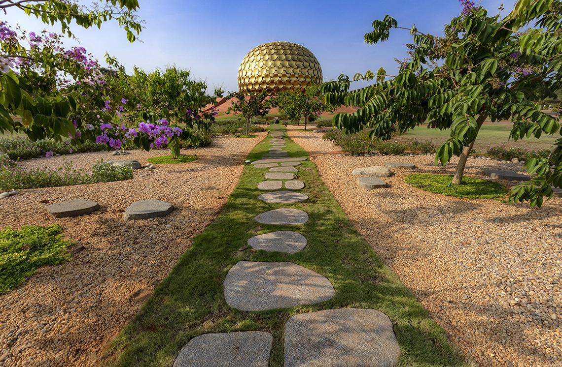 Matrimandir Gardens